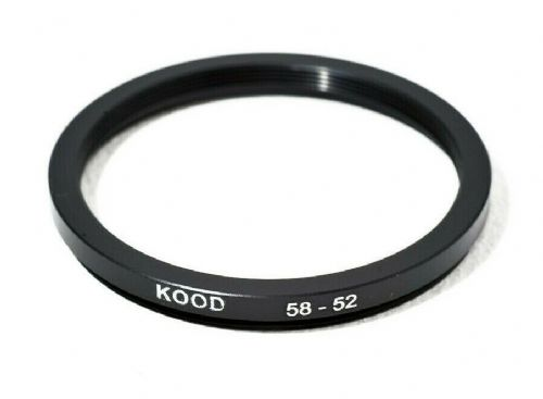 Stepping Ring 58-52mm 58mm to 52mm Step Down Ring Stepping Rings 58mm-52mm